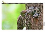 Northern Flicker Family Carry-all Pouch