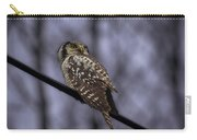 Northern Hawk-owl 6 Carry-all Pouch
