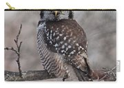 Northern Hawk Owl 9470 Carry-all Pouch
