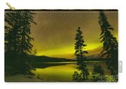 Northern Lights Over The Pines Carry-all Pouch