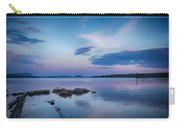 Northern Maine Sunset Over Lake Carry-all Pouch
