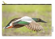 Northern Shoveler On The Wing Carry-all Pouch