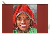Northindian Woman Carry-all Pouch