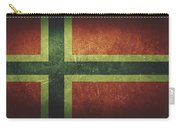 Norway Distressed Flag Dehner Carry-all Pouch