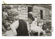 Norway: Milking, C1925 Carry-all Pouch