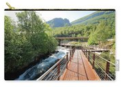 Norwegian Fjord Center In Geiranger Norway Carry-all Pouch