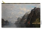 Norwegian Fjord Landscape Carry-all Pouch