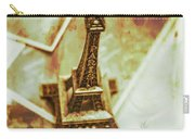 Nostalgic Mementos Of A Paris Trip Carry-all Pouch
