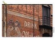 Nostalgic Painted Advertising Carry-all Pouch