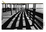 Nostalgic Walk On The Pier Carry-all Pouch