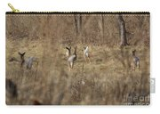 Nothing But White Tails Carry-all Pouch