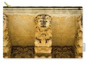 Noto, Italy - Detail Of Baroque Balcony, 1750 Carry-all Pouch