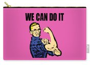 Notorious Rbg Ruth Bader Ginsburg We Can Do It Pop Art Carry-all Pouch