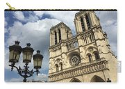 Notre Dame And Lamppost Carry-all Pouch