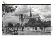 Notre Dame And Seine Carry-all Pouch