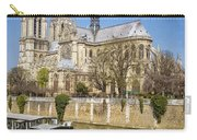 Notre Dame And The Seine Carry-all Pouch