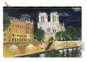 Notre Dame Carry-all Pouch by Bruce Schmalfuss