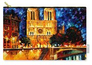 Notre Dame De Paris Carry-all Pouch
