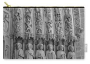 Notre Dame Doorway Detail Paris France Carry-all Pouch