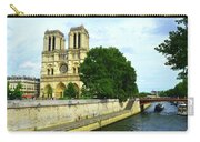 Notre Dame On The Seine Carry-all Pouch