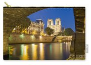 Notre Dame - Paris Night View Carry-all Pouch