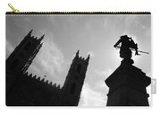 Notre Dame Silhouette Carry-all Pouch