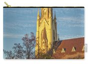 Notre Dame University Basilica Of The Sacred Heart Carry-all Pouch