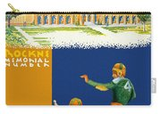 Notre Dame Versus Minnesota 1938 Program Carry-all Pouch