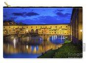 Notte A Ponte Vecchio Carry-all Pouch