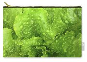 Nourish In Green Carry-all Pouch
