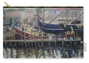 Nova Scotia Boats At Rest Carry-all Pouch