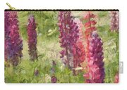 Nova Scotia Lupine Flowers Carry-all Pouch