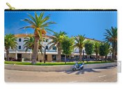 Novalja On Pag Island Palm Waterfront View Carry-all Pouch