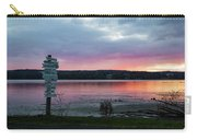 November Sunrise At Esopus Meadows II Carry-all Pouch