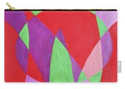Now In Abstract Text Art Carry-all Pouch