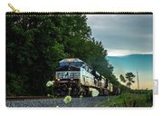 Ns 62w With Blurred Flowers Carry-all Pouch