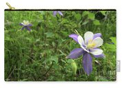 Colorado Columbine On Pikes Peak Colorado Carry-all Pouch