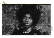 Ntr Rockstar Black And White Carry-all Pouch