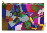 Nu Wall Graffiti Horns In The Landscape Of Sound/tony Adamo Carry-all Pouch