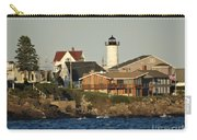 Nubble Light House Beach View Carry-all Pouch