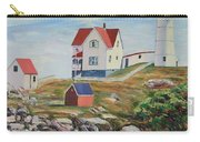 Nubble Light House Maine Carry-all Pouch