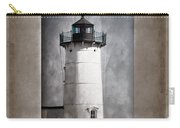 Nubble Light Maine Carry-all Pouch by Carol Leigh