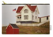 Nubble Lighthouse Shed And House Carry-all Pouch