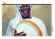Nubian Musician Player Playing Duff Carry-all Pouch