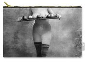 Nude And Apples, C1880 Carry-all Pouch