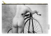 Nude And Bicycle, C1885 Carry-all Pouch