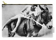Nude And Donkey, C1900 Carry-all Pouch