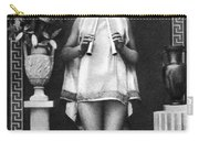 Nude As Ancient Musician Carry-all Pouch