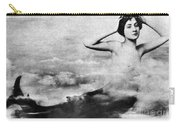Nude As Mermaid, 1890s Carry-all Pouch