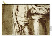 Nude Drawing For A Youth Carry-all Pouch